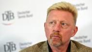 """Jetzt beginnt mein Job"": Boris Becker geht auf Inspektionstour."