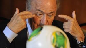 Blatter weist Pieth zurecht