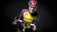 Auch im Alter von 105 Jahren ist Robert Marchand noch flott auf dem Rad unterwegs.