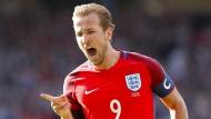 Englands Harry Kane hatte das letzte Wort in diesem Duell.