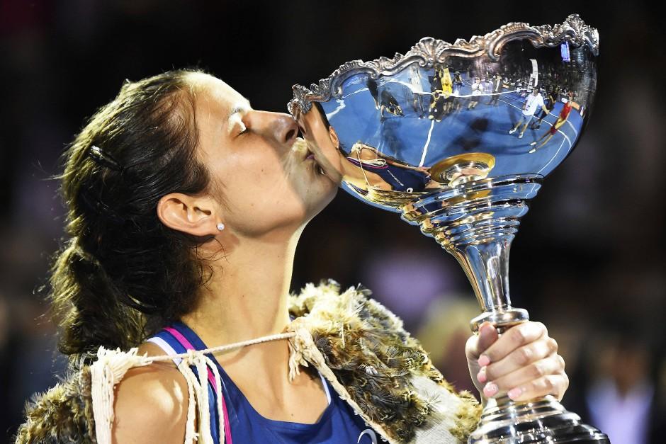 Julia Görges gewann zuletzt das Turnier in Auckland, spielt aber nicht im Fed-Cup.