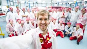Sebastian Vettel im Ferrari-Werk: Revolution statt Evolution