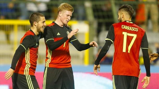 Länderspiel in Belgien abgesagt