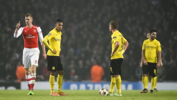 Dortmund verliert nun auch in der Champions League
