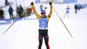 Deutsche Staffelfrauen gewinnen in Oberhof