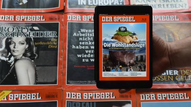 «Der Spiegel» im neuen Gewand erschienen