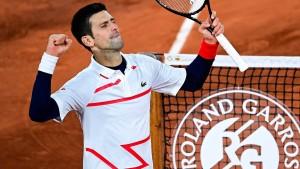 Djokovic auf Kurs Traumfinale