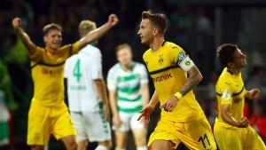 Witsel und Reus verhindern Dortmunder Blamage