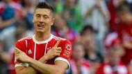 Bisher brauchen weder Polen noch die Bayern einen zweiten Robert Lewandowski: Das Original spielt praktisch immer.