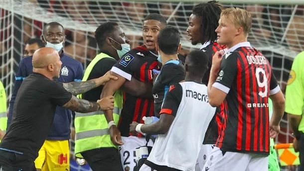 """""""Schande von Nizza"""" erschüttert französischen Fußball"""