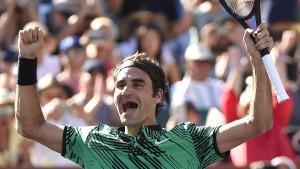 Märchenhafte Woche für Federer