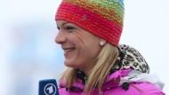 """""""Nach der Saison ist vor der Saison"""": Maria Höfl-Riesch weiß aus eigener Erfahrung als Aktive, dass es auch im Wintersport nur wenig Pause gibt."""