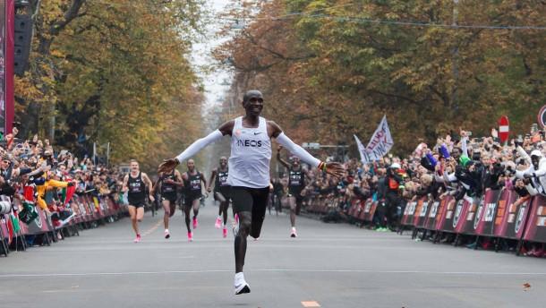 Das Duell der Marathon-Giganten fällt aus
