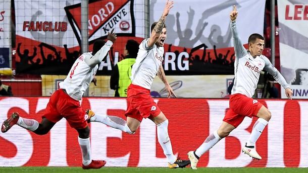 Salzburg stürmt ins Halbfinale