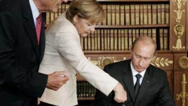 Putin will mehr Gas für Europa bereitstellen