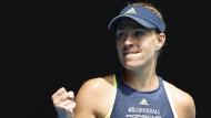 Australian Open: Kerber nach grandiosem Match im Halbfinale