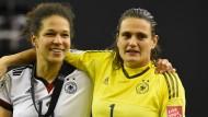 Zwei Garantinnen für den Sieg: Celia Sasic (links) und Nadine Angerer