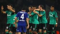 Schalker Jubel: Die Königsblauen holen einen Zähler in London