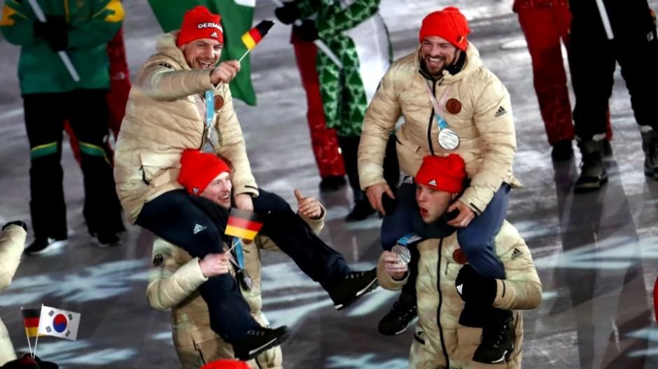 Deutsche Athleten und Fans sind mehr als zufrieden