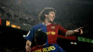Hoch lebe König Messi: Der Argentinier brillierte wieder für den FC Barcelona