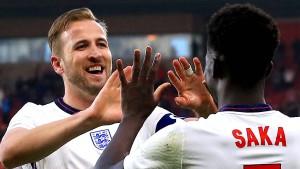 England jubelt zum Auftakt in Wembley