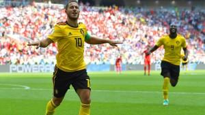Belgien spielt sich in einen Rausch