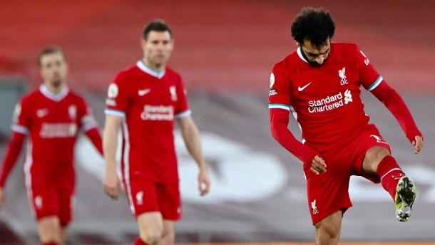 Heftige Niederlage für Liverpool im Topspiel