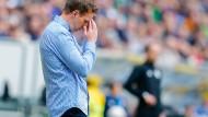Kein fröhlicher Ausstand: Hoffenheims Trainer Julian Nagelsmann geht nach einer Heimniederlage gegen Bremen auf Bootstour auf dem Neckar.