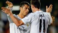 94 Millionen Euro (links) und 100 Millionen Euro (rechts) sichern das 2:2 in Villarreal