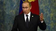 Putin wirft Türkei Ölgeschäfte mit Islamischem Staat vor