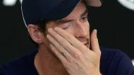 """""""Ich bin nicht sicher, ob ich noch vier oder fünf Monate unter Schmerzen spielen kann"""": Andy Murray."""