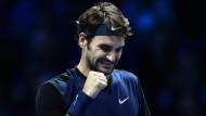 Federer will's nochmal gegen Djokovic wissen