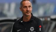 Will seine Mannschaft nach Europa führen: Frankfurt-Coach Adi Hütter