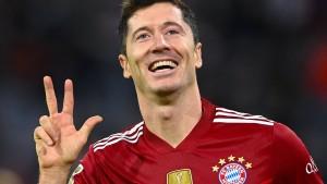 Lewandowski glänzt bei Gala des FC Bayern