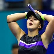 Sie kann ihren Coup kaum fassen: Bianca Andreescu