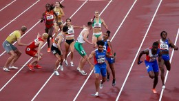 Deutsche Mixed-Staffel rennt ins Finale