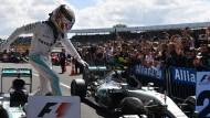 Heimsieg für Lewis Hamilton