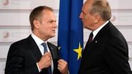 Russland geht destruktiv, aggressiv, einschüchternd vor