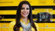 Saudische Frauenpower: Aseel Al-Hamad fährt auch Formel 1.