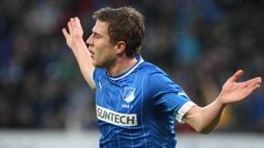 Hoffenheim durfte nur einmal jubeln - nach dem Tor von Sven Schipplock