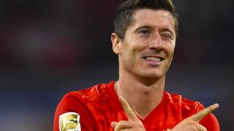Jetzt ist auch Lewandowski glücklich
