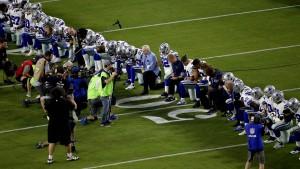 Buhrufe für knienden NFL-Besitzer nach Trump-Kritik