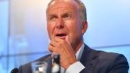 """""""Es war eine wichtige, eine interessante und vom Ergebnis gute Zeit"""": Karl-Heinz Rummenigge."""