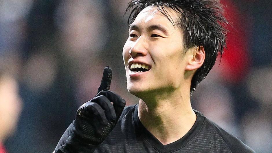 Bisher brillierte Daichi Kamada für Frankfurt vor allem in der Europa League.