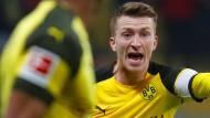 Klare Ansage vom Kapitän: Marco Reus gibt beim BVB die Richtung vor.