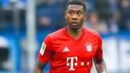 Steht im Fokus: David Alaba verhandelt mit dem FC Bayern über einen neuen Vertrag.