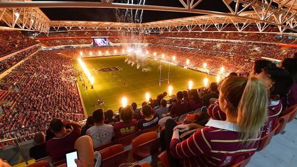 50.000 Stadionbesucher bei Rugby-Spiel