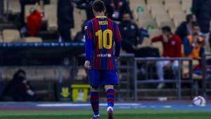 Messi sieht erstmals Rot