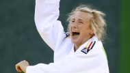 Pipi Langstrumpf als Vorbild und selbst auch stark: Judokämpferin Martyna Trajdos