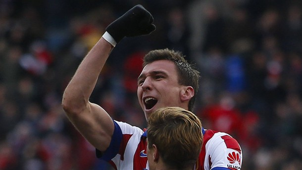Atléticos Hoffnung heißt Mandzukic